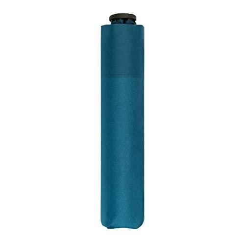 doppler Taschenschirm Zero,99 – Gewicht von nur 99 Gramm – Stabil – Windproof – 21 cm – Ultra Blue