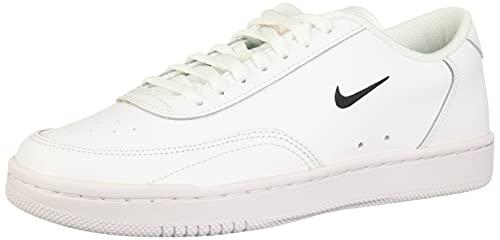 Nike Court Vintage, Scarpe Donna, White/Black-Total Orange, 40 EU