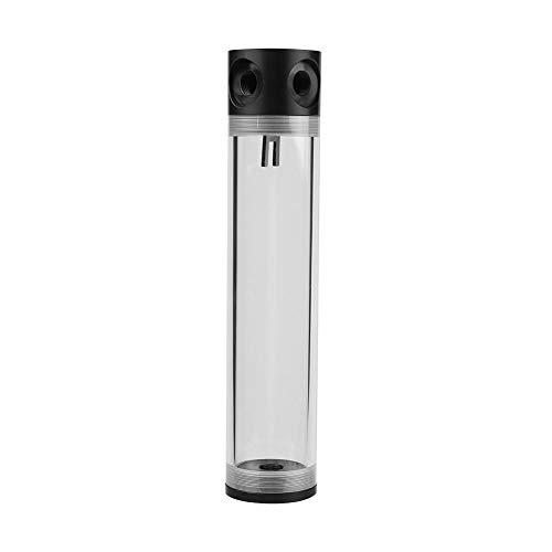 Vbestlife Tanque Refrigerado por Agua para Enfriamiento de Computadora 50mm Diámetro G1 / 4 Hilo de Rosca Cilindro Extra Largo. (240MM)