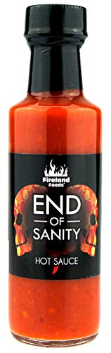 FIRELAND FOODS End Of Sanity (Carolina Reaper) Hot-Sauce, Chilisauce, 100ml