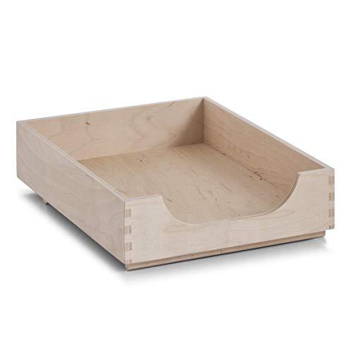 Zeller 13187 Ablagebox, Birke 23 x 32 x 7 cm