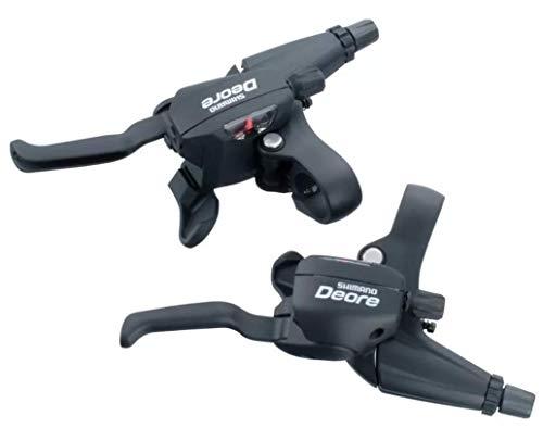 レア シマノ(SHIMANO) ST-M530 デオーレ(DEORE) デュアルコントロール Vブレーキ ディスクブレーキ 用 3×9 シフト ブレーキ 兼用レバー MTB用STIレバー クロスバイク用STIレバー