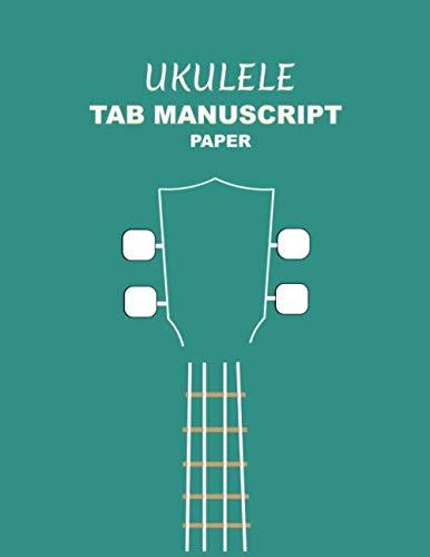Ukulele Tab Manuscript Paper: With Chord Diagrams