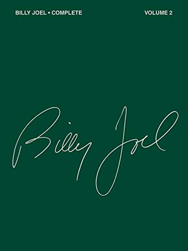 Billy Joel Complete - Volume 2 Piano, Vocal and Guitar Chords (PIANO, VOIX, GU)