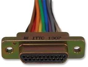 ITT Cannon MDM-21PH003B D-Subminiature Connector