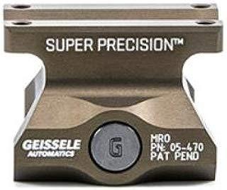 Geissele Super Precision Mount Fits Trijicon MRO, Lower 1/3 Co-Witness