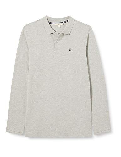 ESPIRT Jungen Poloshirt Polohemd, medium Grey 5 Gray, XL-176