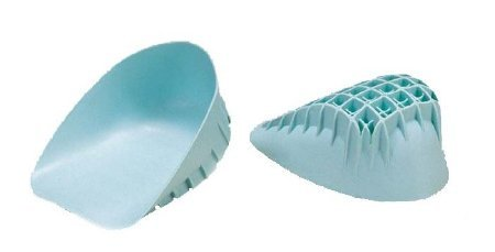DJO ProCare Heel Cup Regular Without Closure Adult Foot, Large, 1 Pair