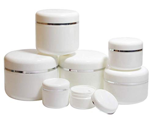 Wunderschöne Premium-Behälter für Kosmetika, Medikamente, Cremes, Nagellacke, Puder und andere Hautpflegeprodukte