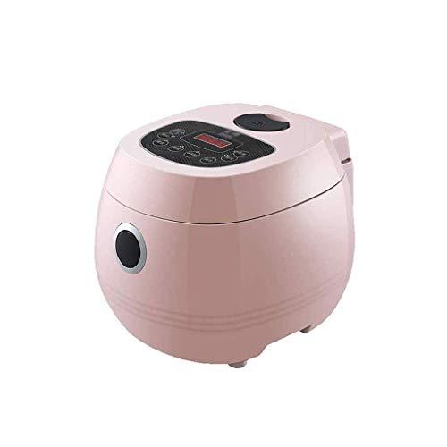 Hot Pot électrique, Mini Pot multi-fonctionnel for les nouilles, soupe, porridge, Dumplings, oeufs, pâtes avec fonction chaud Keep, Over (Couleur: Rose) (Couleur: Rose) lalay (Color : Pink)