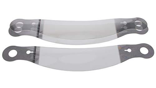 10205C - Racing Optics Xstack Helmet Tear Off Fits Bell: GTX, Vortex, BR-1, M4, K-1, Sport, 267 Shield, 281 Shield, 288 Shield; All Pyrotect Helmets and Racequip Pro15