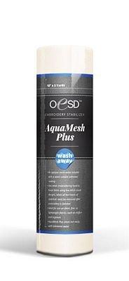 """OESD Aquamesh PLUS Wash-away Stabilizer 20""""x5yd (BHBWAP-20)"""