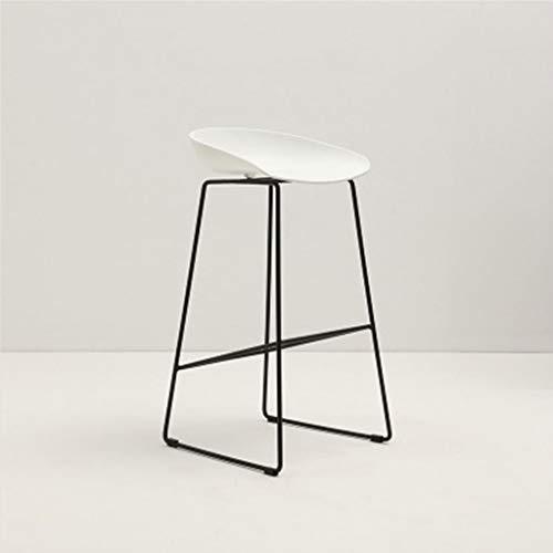 ☀ JBD Moderne Simple Chaise De Bar Fer Art Tabouret sur Pied Design Créateur Comptoir Siège Café Restaurant Restaurant (Couleur : E)