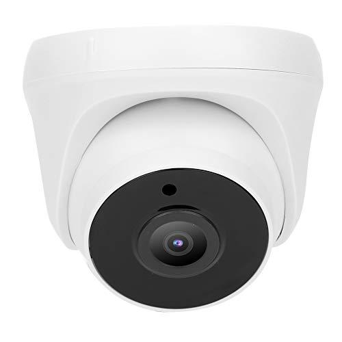 Asixxsix Cámara analógica, vigilancia de Seguridad, cámara para el hogar HD de 5 MP, cámara Domo, para Exteriores,(European regulations)