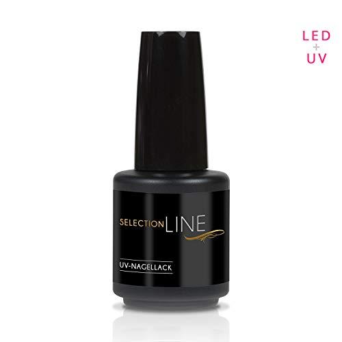 N & BF Selection Line & UV LED Vernis à ongles top coat – Colles Gel – 7ml brillant – High Gloss Kit ongles gel pour dünnviskos Transparent 15 ml