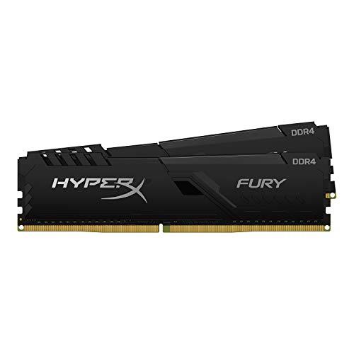 キングストン Kingston デスクトップPC用メモリ DDR4 3200MHz 16GBx2枚 HyperX FURY Memory Black Unbuffered DIMM HX432C16FB4K2/32