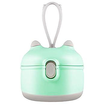 Baby Formula Dispenser Portable Milk Powder Dispenser Snack Storage Container for Travel Bedroom Outdoor …  Green