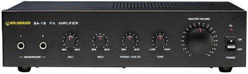 Show SA-18 Audio versterker zwart