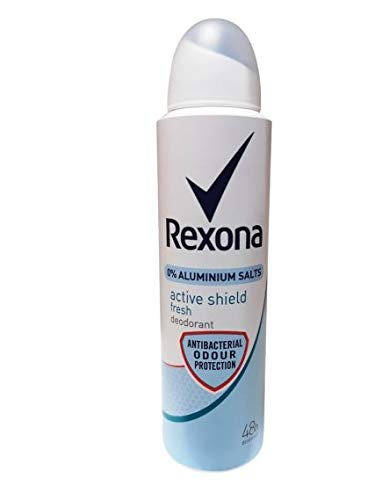 6er Pack - REXONA Women Deospray – Active Shield Fresh - ohne Aluminium - 150 ml