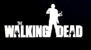 CCI The Walking Dead Daryl Dixon Decal Vinyl Sticker|Cars Trucks Vans Walls Laptop| White |7.5 x 3.25 in|CCI883