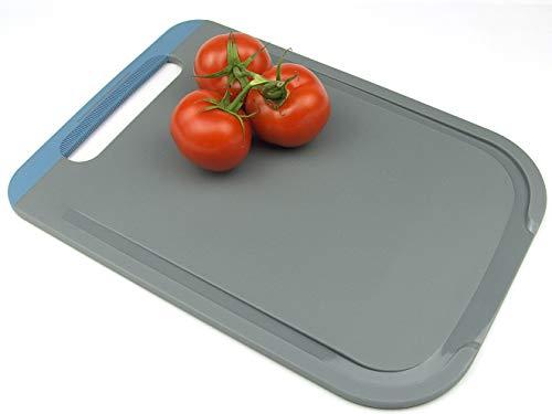 Secret de Gourmet - Planche à découper avec pante d'écoulement 34x 23 cm