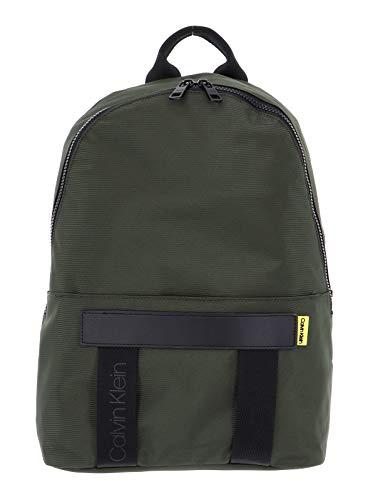 Calvin Klein Nastro Logo Backpack Dark Olive