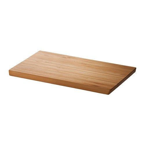APTITLIG Planche à découper, bambou, 45 x 28 cm, vous pouvez facilement tourner la planche à découper et utiliser les deux côtés lorsque vous Préparez vos aliments.