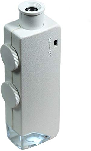 Hydrofarm AEM60100 60x-100x Active Eye Illuminated Microscope, White