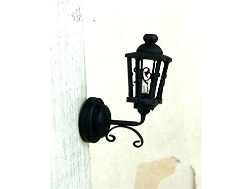 Melody Jane Dolls Houses House Lighting Led Battery Light Outdoor Victorian Lantern Coach Lamp