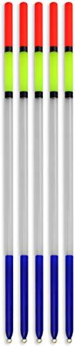 Storfisk fishing & more 5er oder 10er Set Clear Posen Forellenposen zum erfolgreichen Angeln auf Forellen, Länge: 15-27 cm, Stück:5 Stück, Länge:15 cm