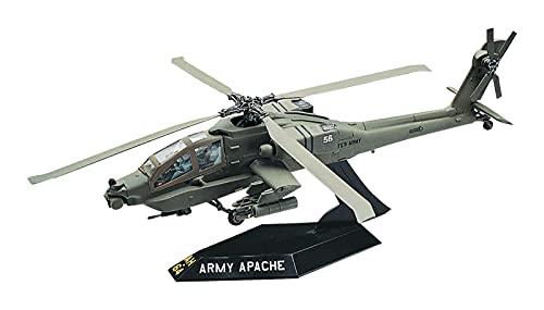 Revell SnapTite Apache Helicopter Plastic Model Kit Brown