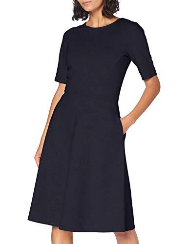 OPUS Damen Winosa Kleid, Blau (Dark Night 6041), 38
