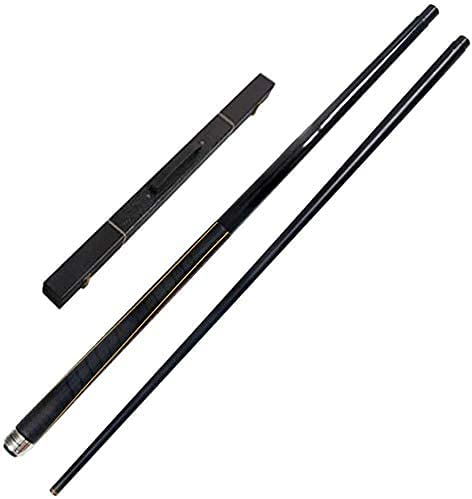 Ronglibai Pool Sticks Short Pool cues Sticks Billiard Pool Cue 1/2 Jointed Pool Stick with 11.8Mm Tips Very Nice Grip 58 Inch 19-20 Oz Maple Wood Billiard Pool Cue Pool Cue(Color:Pole Box)