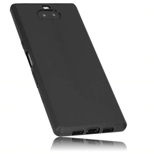 mumbi Hülle kompatibel mit Sony Xperia 10 Handy Hülle Handyhülle, schwarz