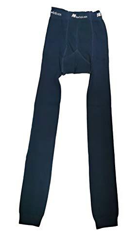 New Balance Calzamaglia Termica Uomo Pantaloni Invernali Uomo in Caldo Cotone Abbigliamento Termico Sci Pantalone Invernale Misure S M L XL Intimo Termico Design Ergonomico Sport (L, Blu)