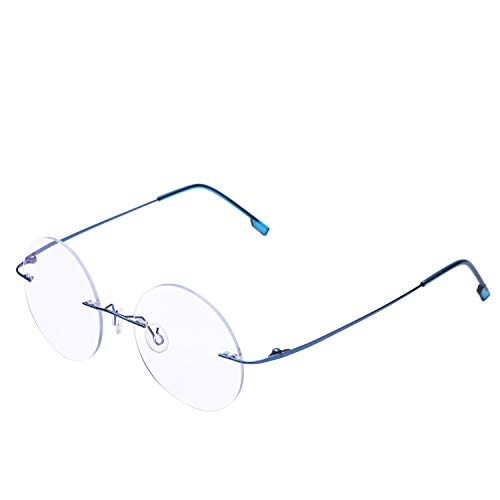Gafas de lectura redondas sin montura Gafas de lectura liger