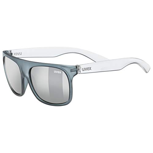 uvex Unisex Jugend, sportstyle 511 Sonnenbrille, grey transparent, one size