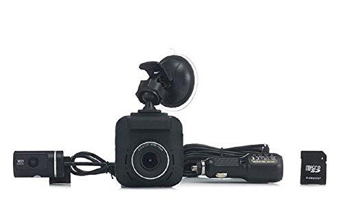 RAC 235D Dual Camera Full HD GPS Safety Camera Data 8GB SD w/Wi-Fi