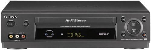 Sony SLV-N500 4-Head Hi-Fi VCR product image