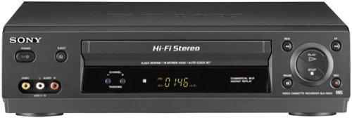 Sony SLV-N500 4-Head Hi-Fi VCR