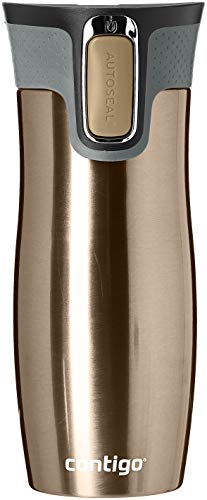 Contigo West Loop Cafetière Mixte Adulte, Latte, 470 ML