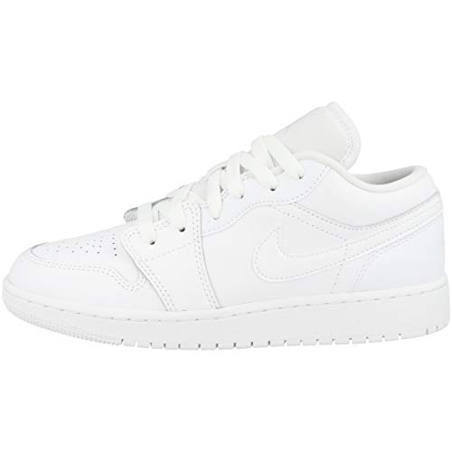 Nike Air Jordan 1 Low, Scarpe da Ginnastica, Bianco, 39 EU