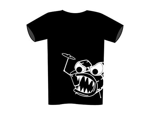 Acme United Tamburo Monster Maglietta Adulto Black XXL