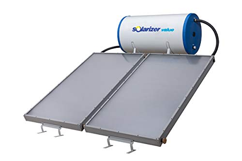 Solarizer Grey and Blue Value Solar Water Heater, 200 L