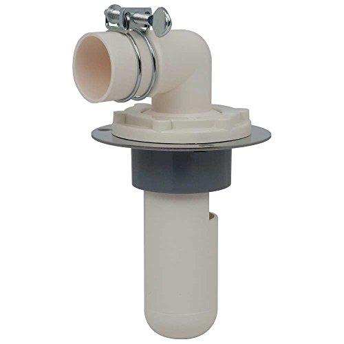 カクダイ 洗濯機用 排水トラップ におい防止 床直接取り付け 呼50VP・VU管兼用 ステンレスプレート付 426-020-50