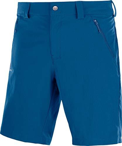SALOMON Wayfarer LT Short M Pantalón Corto de Verano, Hombre, Azul (Poseidon), 52