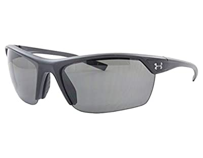Under Armour Zone 2.0 Sunglasses Satin Black / Gray Lens 62 mm