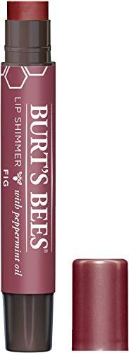 Burt's Bees 100% Natural Moisturizing Lip Shimmer, Fig - 1 Tube