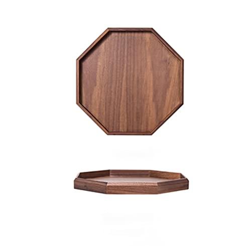 Decorativas Bandejas Bandeja de la bandeja de la bandeja de la bandeja de la bandeja octagonal bandeja de la bandeja rectangular de té de la mesa de café de la mesa de la fruta de la bandeja de la ban