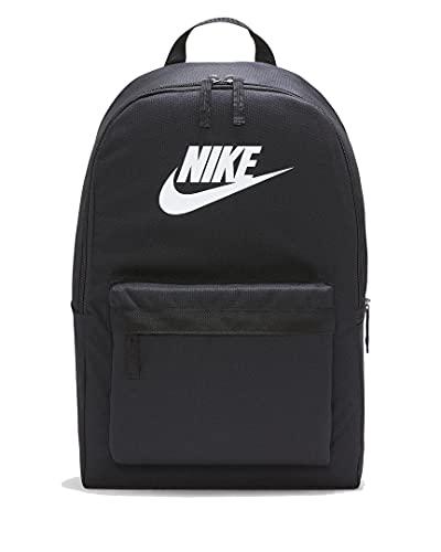 Nike Heritage Backpack Rucksack (one size, black/white)